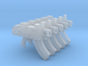 Mk87 Thunderbolt Pistols (with grip) 3d printed