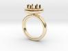 Ring Iris 3d printed
