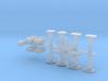1:87 BR214 Puffer-Lampen-Lüfter  3d printed
