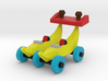 Double Banana Car 3d printed