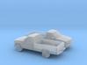 1/160 2X 1994 Chevrolet Silverado Single Cab Long  3d printed