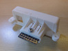 NES Top Loader Wii Style Multiout Rear Panel 3d printed
