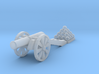 Cannon (Heavy) - N 160:1 scale 3d printed
