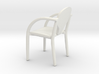 Chair 01. 1:24 scale 3d printed Office chair in 1:24 scale
