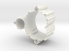 Mandelbrot Vase 1 Without Base 3d printed