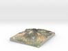 Pico del Teide Map, 1:45,000 3d printed