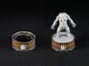 Point counter/mini base - 35mm (rotating) 3d printed Painted and assembled counter. Miniature copyright Monolith.