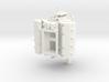 AJPE 1/12 Hemi Single Blower Manifold  3d printed