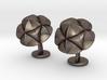 CupulaCufflinks 3d printed
