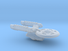 Terran(Early) Intrepid Class Cruiser - 1:7000 3d printed