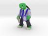 Day-Job Tortoise, Middle Manager (Sandstone) 3d printed