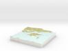 Maud Island / Te Hoiere - 15cm / 1:50k 3d printed