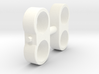 Wessex WX-62 Fuel Pipe Double Pair 3d printed