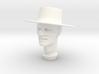 1:9 Scale Zorro Head 3d printed