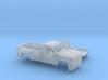 1/87 2015 Chevrolet Silverado HD Reg. Cab Long Bed 3d printed
