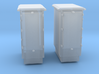 1/48 USN 3 inch 50 Gun Ammo Lockers Set 3d printed