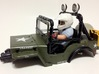 WW10009 Wild Willy Moto Colour Printed Driver Body 3d printed Direct fit for the Tamiya Wild Willy