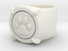 CHAT NOIR RING Size6 3d printed