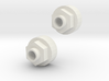 Tamiya ORV Rear Wheel hubs for HPI wheels  3d printed