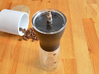 Coffee Grinder Bit For Drill Driver CDP-RE 3d printed With Hario Coffee Mill Slim Grinder