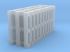 10x Europallets N-scale 3d printed