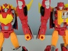 MTMTE Rodimus chest (Part 1 of 2) 3d printed