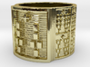 BABA IRETE MEYI Ring Size 13.5 3d printed
