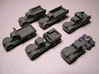 1/200 Scale Diamond T Truck Set 3d printed