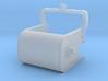 Dragline Bucket for cranes, barges, flatcar Load,  3d printed