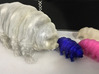 Tardigrade Water Bear Moss Piglet 3inch detailed 3d printed Photos of various sizes and colors