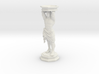 Column: Standing figure with base 3d printed