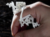 Cosmic Overdose-Fractalic Mystical Finger Ornament 3d printed