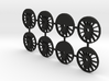 TH&B As-class 1-48 Driver Set For Proto48 Tyres 3d printed