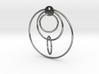 Loop Earring 3d printed