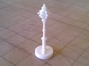 Role Playing Counter: Mace 3d printed Mace in Strong & Flexible Plastic (Polished White)