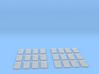 1/72 DKM Watertight Doors Set 24 Units 3d printed