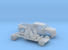 1/160  2016/17 Ford F-Series Crew/Dually Bed Kit 3d printed