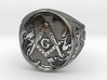 Masonic Geometry Signet Ring 3d printed