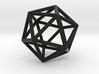 Icosahedron Pendant 3d printed