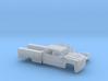1/160 2016 Chevrolet Silverado Crew/ Utility Bed 3d printed