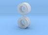 Servo Spline 25T (2x) 3d printed