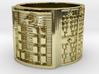 OYEKUNTEKUNDA Ring Size 14 3d printed