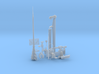 1/32 U-Boot VII C41 Conning Tower Detail SET 3d printed