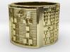 IWORIBOSA Ring Size 14 3d printed