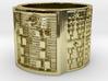 IWORITURA Ring Size 14 3d printed