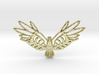 Golden Bird 3d printed