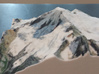 Mt. Baker, Washington, USA, 1:50000 Explorer 3d printed Photo by D. Stockton, 2-time Mt. Baker summit climber