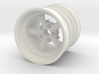 Rear SRB Empi 5 spoke wheel 3d printed