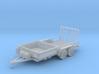 Dump Trailer Short 1-87 HO Scale 3d printed