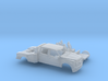 1/160  2017 Ford F-Series CrewToyHauler Dually Kit 3d printed